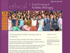 Ethical hairdressing and beauty in Sheffield
