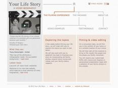 Your life story, video biography