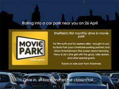 Movie Park Sheffield, drive in movies, films